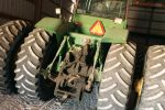 Back of a 4WD John Deere Tractor