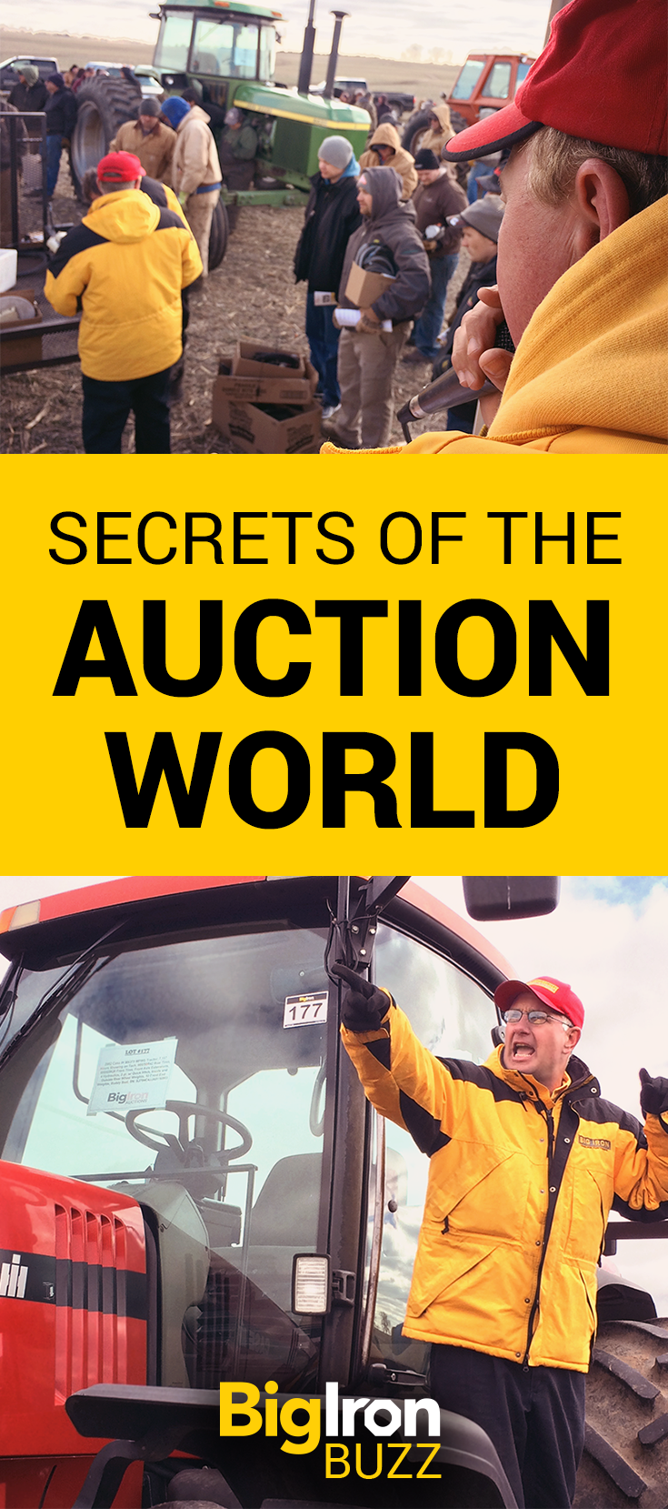 Mark Stock, co-owner of BigIron Auctions, gives us an inside view into what happens behind the scenes at an auction. It's all about preparations, psychology, and farmer logic. Learn more about how and why BigIron does business a little bit differently.