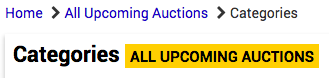 ALL UPCOMING AUCTIONS